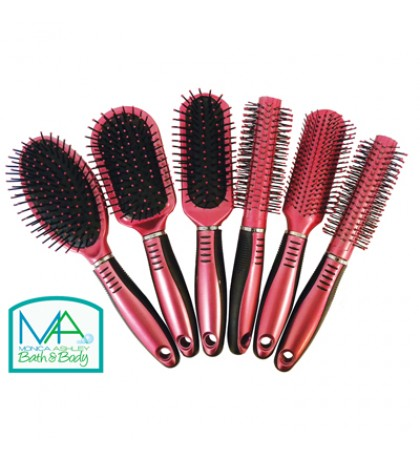 24783HAIR BRUSH 9 INCH ASSORTED STYLES IN DISPLAY