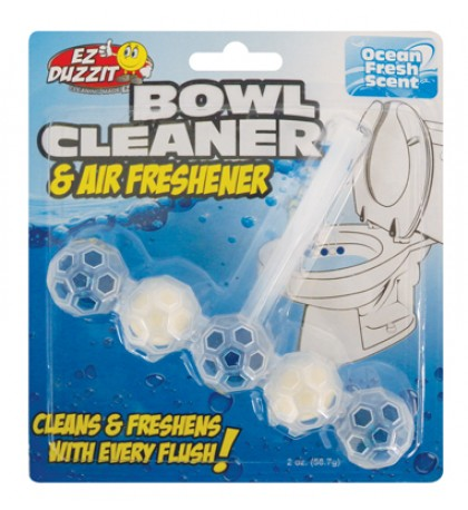 5 IN 1 AUTOMATIC BOWL CLEANER + AIR FRESHNER 2 OZ WITH HANGING CLIP