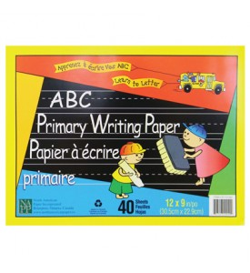 ABC PRIMARY WRITING PADS 40 SHEETS 12 X 9 INCH
