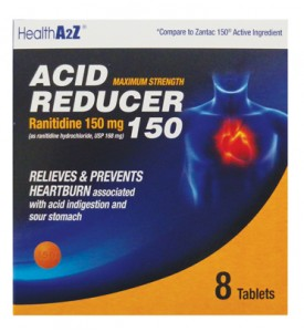 ACID REDUCER TABLETS 8 CT 150 MG
