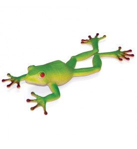 ANIMAL KINGDOM FROG 9 INCH IN DISPLAY
