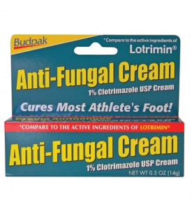 ANTI-FUNGAL CREAM 0.50 OZ 1% CLOTRIMAZOLE USP CREAM