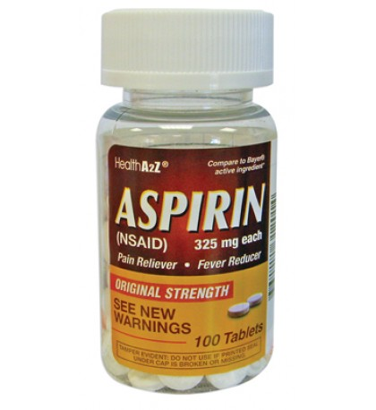ASPIRIN 100 COUNT 325 MG
