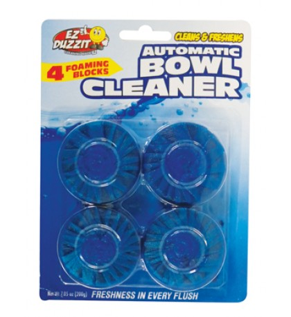 AUTOMATIC TOILET BOWL CLEANER 4 PACK 7.05 OZ TOTAL