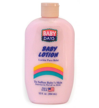 BABY DAYS BABY LOTION 12 OZ