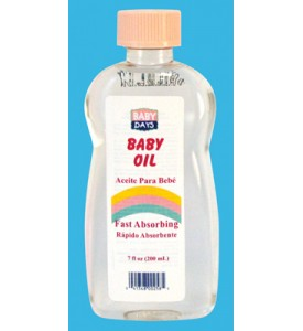 BABY DAYS BABY OIL 7 OZ