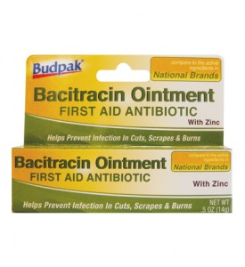 BACITRACIN OINTMENT 0.50 OZ WITH ZINC