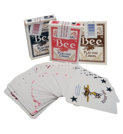 BEE CASINO PLAYED PLAYING CARDS COLORS MAY VARY