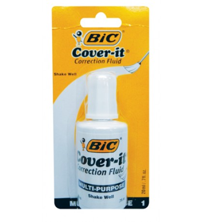 BIC WITE OUT 0.70 OZ WITH BRUSH APPLICATOR