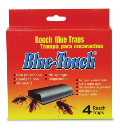 BLUE TOUCH ROACH TRAP 4 PACK