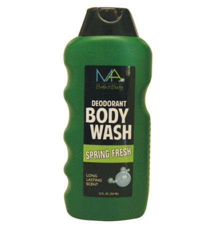 BODY WASH 12 OZ SPRING FRESH