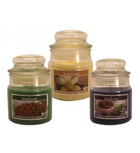 CANDLE 3 OUNCE ASSORTED COLORS COLORS MAY VERY