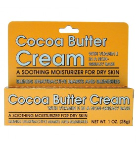COCOA BUTTER CREAM 1 OZ WITH VITAMIN E