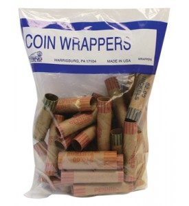 COIN WRAPPERS 36 COUNT ASSORTED