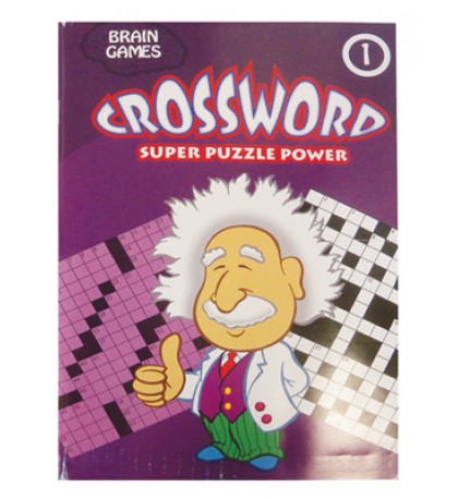 CROSSWORD PUZZLE BOOK 96 PG ASSORTED