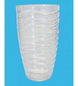 DRINKING CUP 21 OZ CRYSTAL PLASTIC