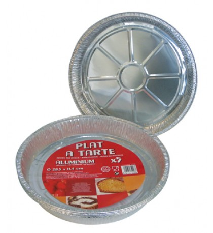 FOIL PAN 5 PACK 11 INCHES ROUND