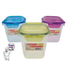 FOOD CONTAINER 57 OZ LOCKING LID RECTANGULAR
