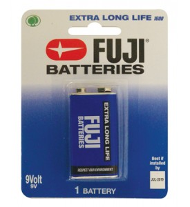 FUJI BATTERY 9V 1 PACK EXTRA LONG LIFE