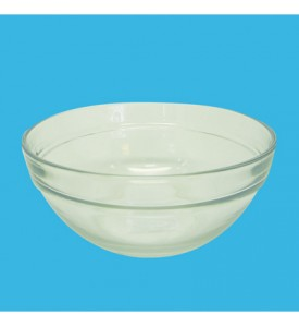 GLASS BOWL 7 INCH ROUND