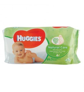 HUGGIES BABY WIPES 56 COUNT NATURAL CARE