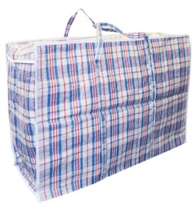 LAUNDRY BAG 29 X 20 X 11 INCH ASSORTED COLORS