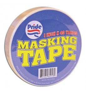 MASKING TAPE 1 INCH X 40 YARDS