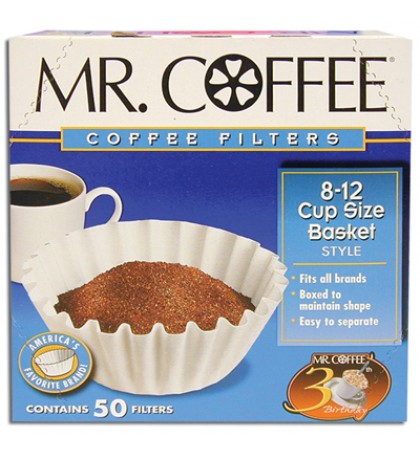 MR COFFEE FILTER 50 COUNT BOXED