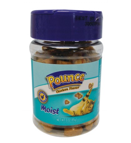 POUNCE MOIST CAT TREAT 3 OZ CHICKEN FLAVOR