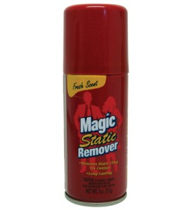 STATIC REMOVER 2 OZ FRESH SCENT