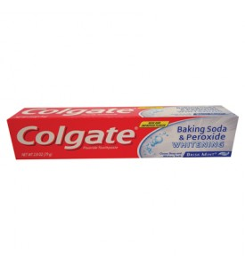 66074COLGATE TOOTHPASTE 2.5 OZ WHITENING BAKING SODA & PEROXIDE BRISK MINT PASTE