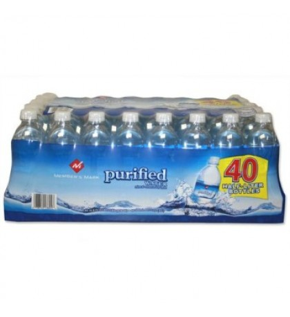 Purified Bottled Water (16.9 oz)