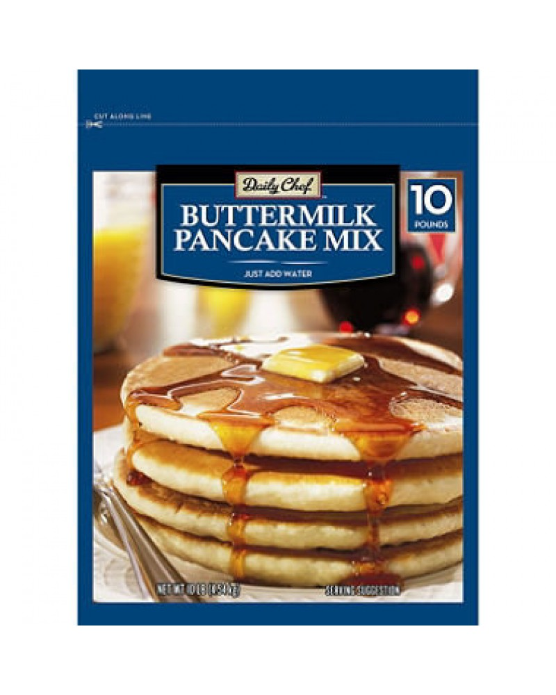 chef buttermilk pancake mix 10 lbs daily chef buttermilk pancake mix ...