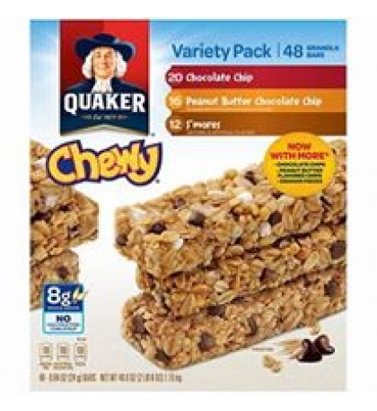 Quaker Chewy Bars Variety Pack