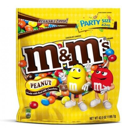 Party Size M&Ms